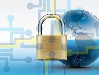 Encryption of data online